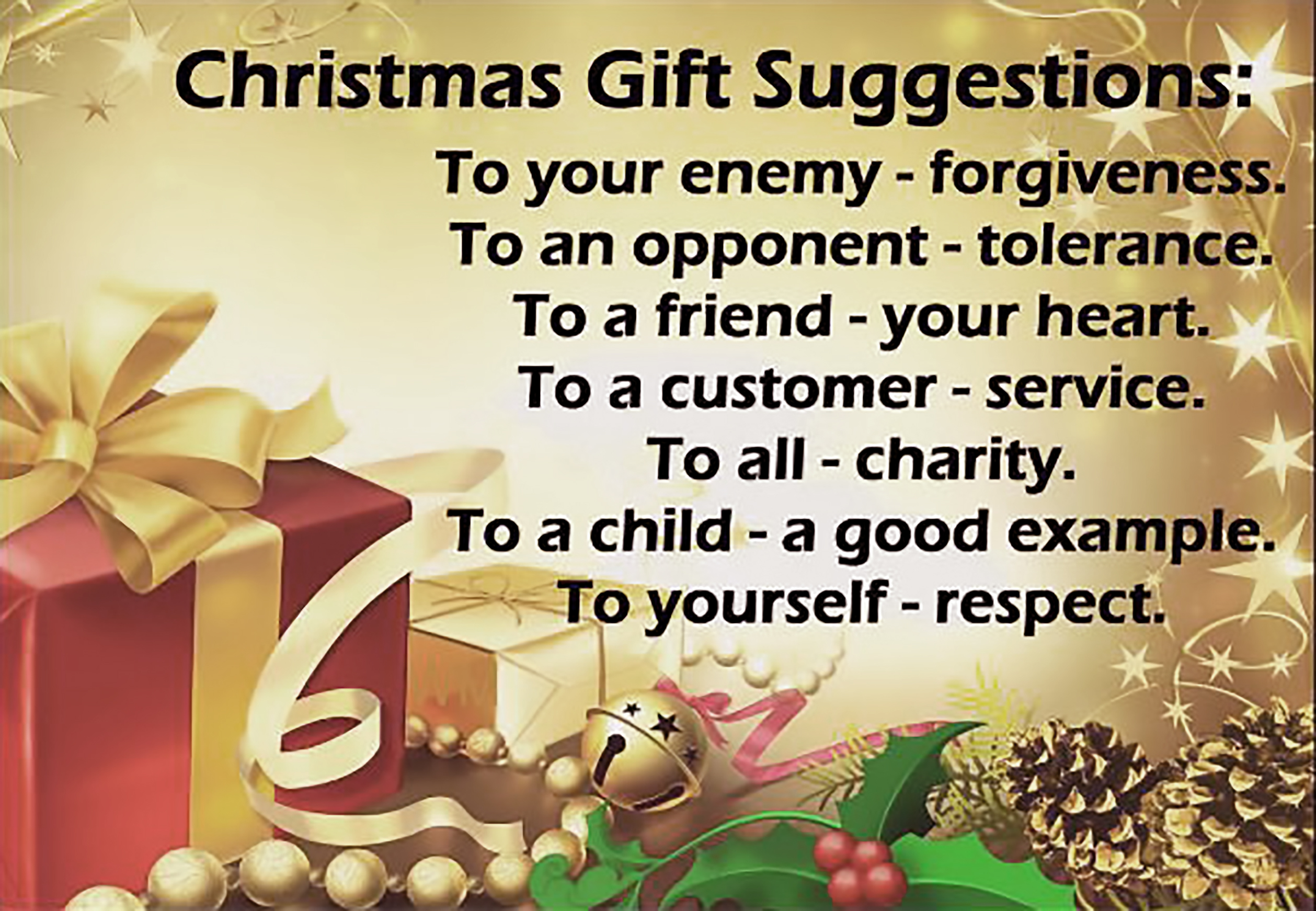 St. Helena Catholic Church - Christmas Gift Suggestions - December ...