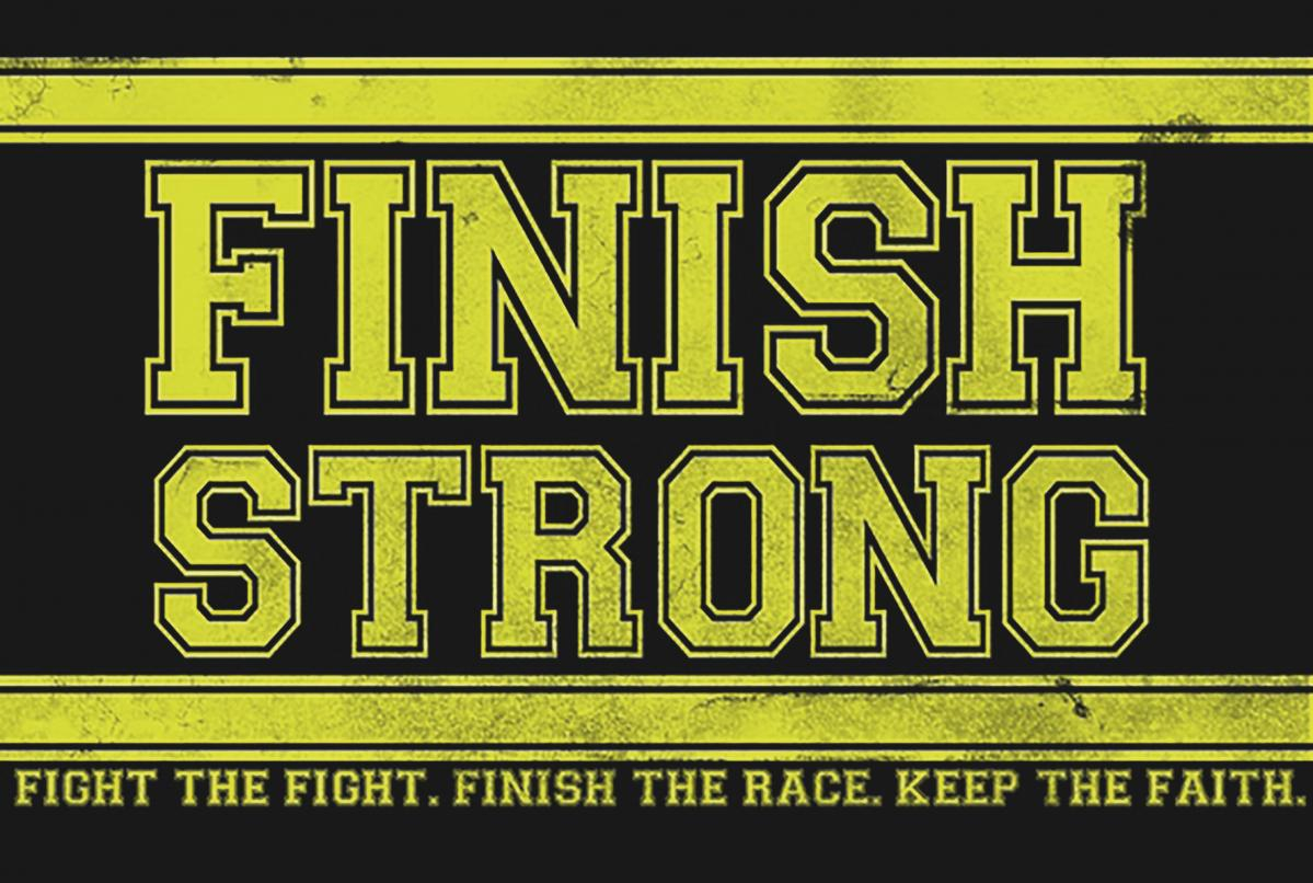 finish strong quote