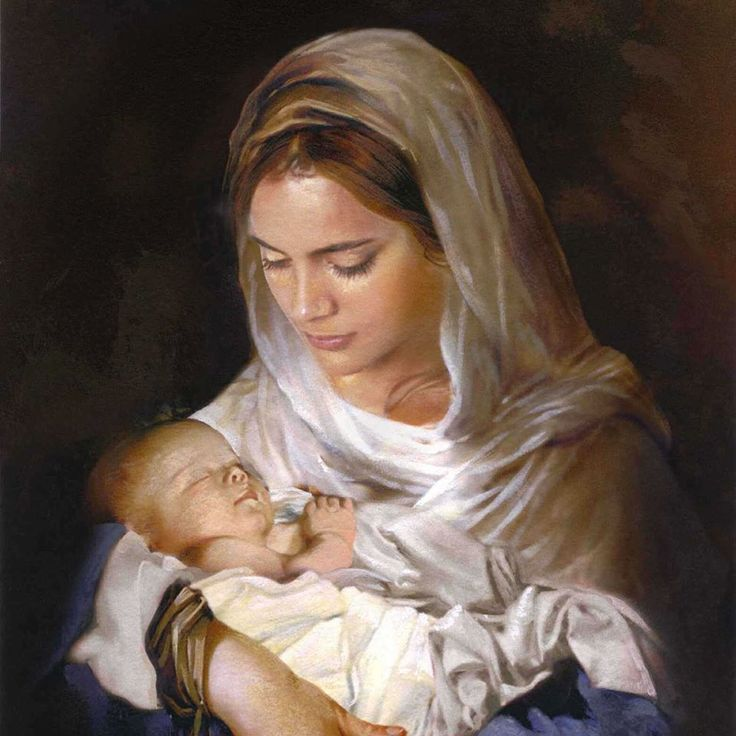 holy mother with child