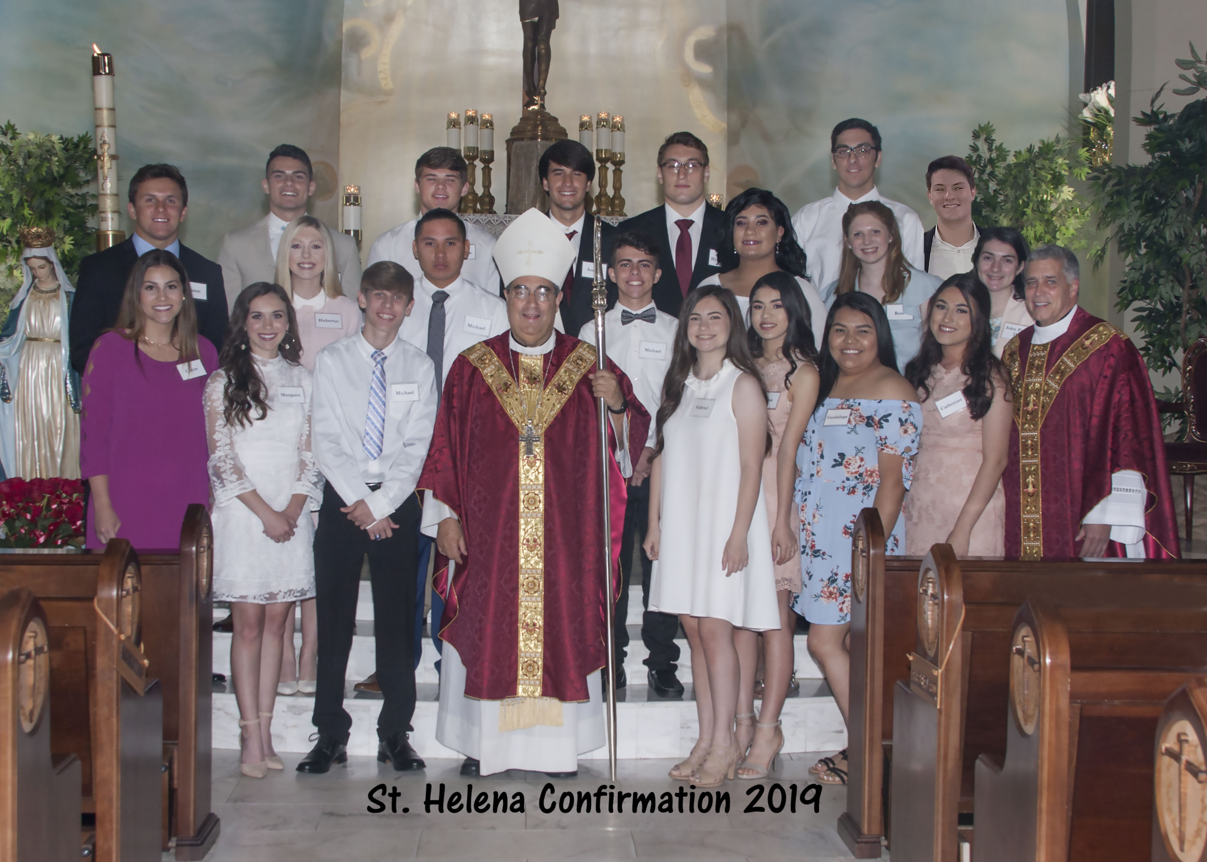 2019 confirmation picture