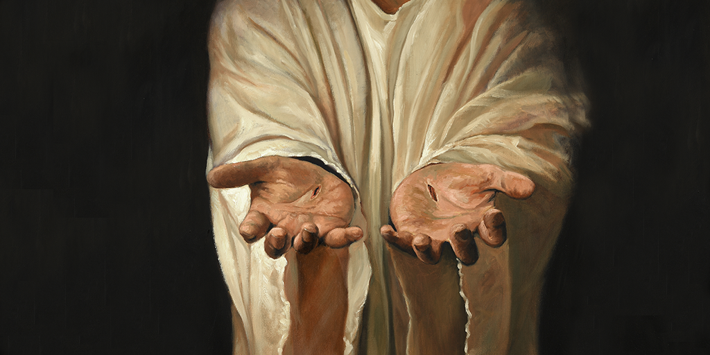 jesus wounds in hands