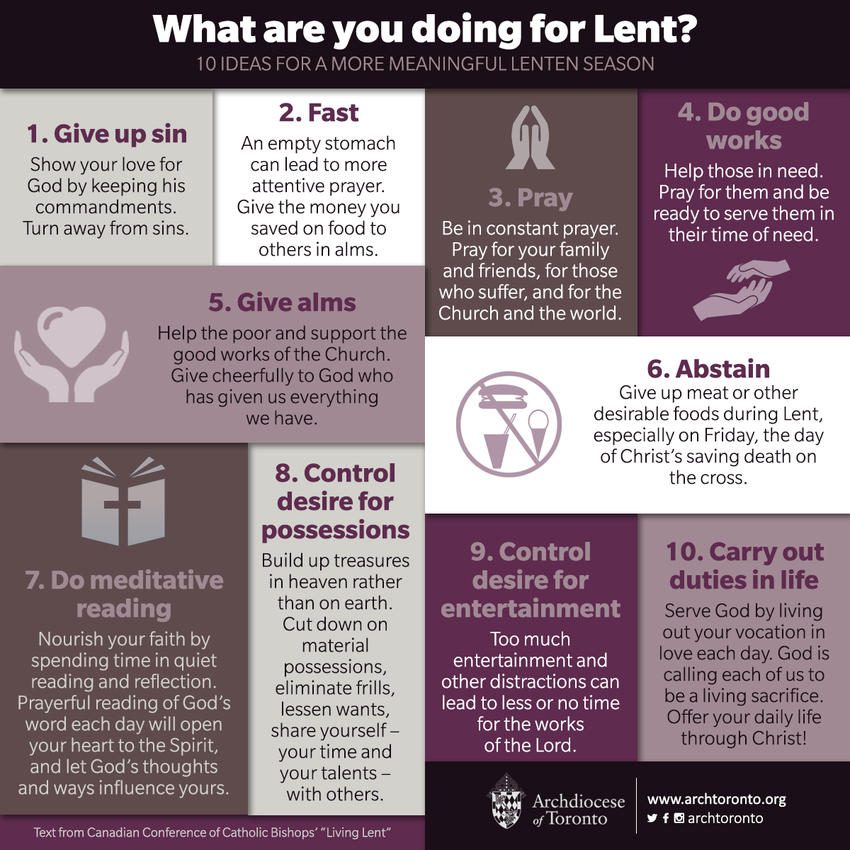 what are you doing for lent